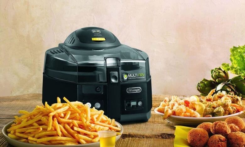 air fryer cooked food
